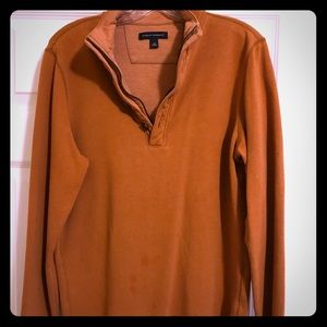 Banana Republic, Quarter zip/ button pullover